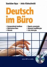 Deutsch im Buro (+ CD) - okładka książki