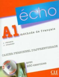 Echo A1. Język francuski (+ CD audio) - okładka podręcznika