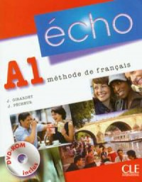 Echo A1. Język francuski. Podręcznik (+ DVD) - okładka podręcznika