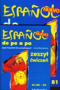 Espanol de pe a pa. Język hiszpański dla początkujących. Podręcznik z ćwiczeniami (+ CD) - okładka podręcznika