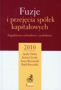Fuzje i przejęcia spółek kapitałowych - okładka książki