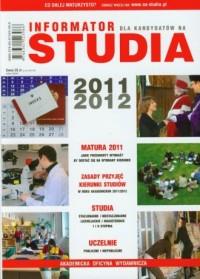 Informator. Studia 2011/2012 - okładka książki