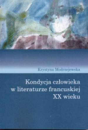 Kondycja człowieka w literaturze - okładka książki