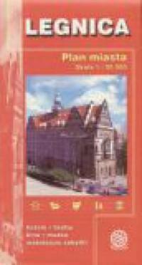 Legnica. Plan miasta - okładka książki