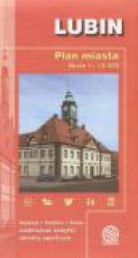 Lubin (plan miasta w skali 1:12 500) - okładka książki