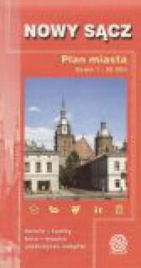 Nowy Sącz. Plan miasta - okładka książki