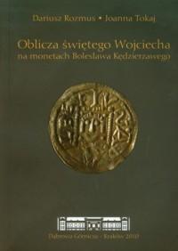 Oblicza świętego Wojciecha na monetach - okładka książki