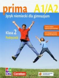 Prima 2. Podręcznik (+ CD) - okładka podręcznika