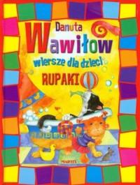 Rupaki wiersze dla dzieci - okładka książki