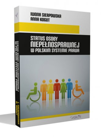 Status osoby niepełnosprawnej w - okładka książki