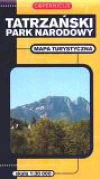 Tatrzański Park Narodowy. Mapa turystyczna - okładka książki