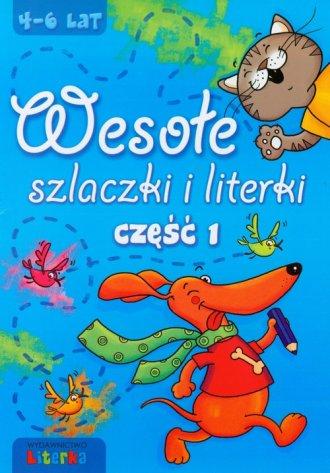 Wesołe szlaczki i literki cz. 1 - okładka podręcznika