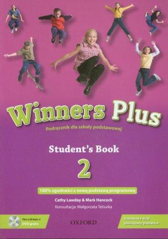 Winners Plus 2. Student s Book - okładka podręcznika
