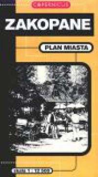 Zakopane. Plan miasta - okładka książki