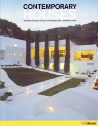 Contemporary Houses - okładka książki