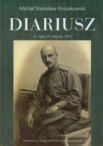 Diariusz, t.1,cz.1. 21 maja - 31 - okładka książki