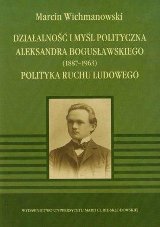 Działalność i myśl polityczna Aleksandra - okładka książki