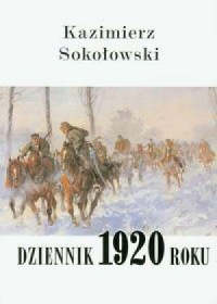 Dziennik 1920 roku - okładka książki
