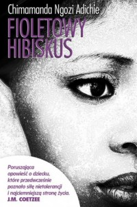 Fioletowy hibiskus - okładka książki