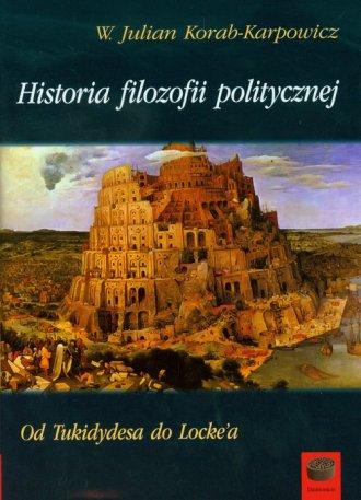 Historia filozofii politycznej. - okładka książki