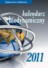 Kalendarz biodynamiczny 2011 - okładka książki