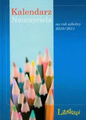 Kalendarz nauczyciela na rok szkolny - okładka książki