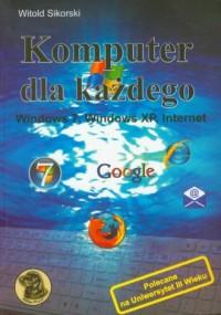 Komputer dla każdego - okładka książki