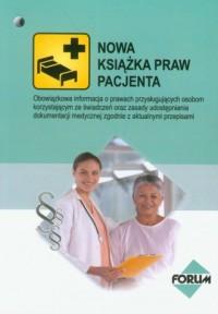 Nowa książka praw pacjenta - okładka książki
