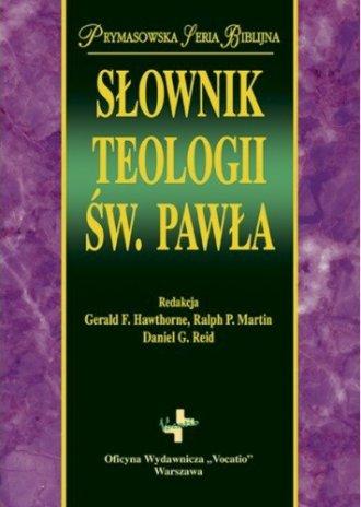 Słownik teologii św. Pawła - okładka książki