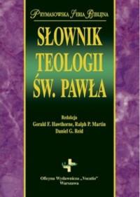 Słownik teologii św. Pawła - Claude-Bernard - okładka książki