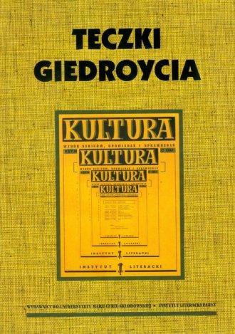 Teczki Giedroycia - okładka książki