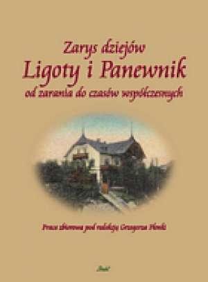 Zarys dziejów Ligoty i Panewnik - okładka książki