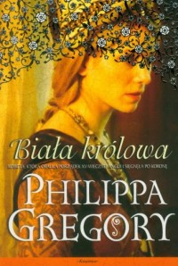 Biała królowa - okładka książki
