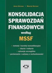 Konsolidacja sprawozdań finansowych według MSSF - okładka książki