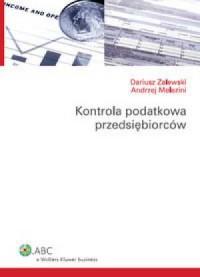 Kontrola podatkowa przedsiębiorców - okładka książki