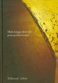 Mała księga dywersji poza podejrzeniem - okładka książki