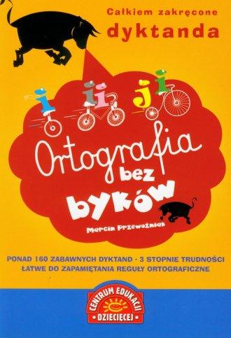 Ortografia bez byków - okładka podręcznika