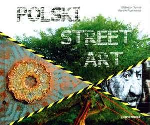 Polski street art - okładka książki