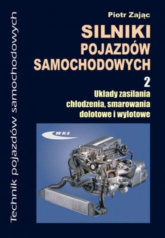 Silniki pojazdów samochodowych - okładka podręcznika