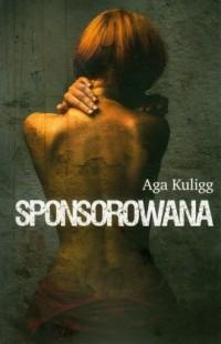 Sponsorowana - okładka książki
