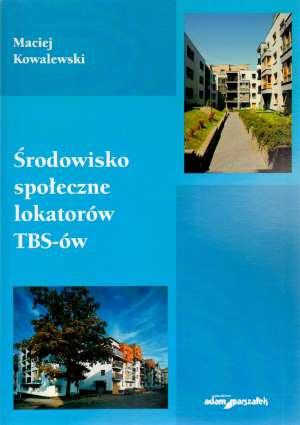 Środowisko społeczne lokatorów - okładka książki