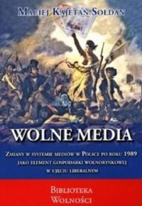 Wolne media - okładka książki