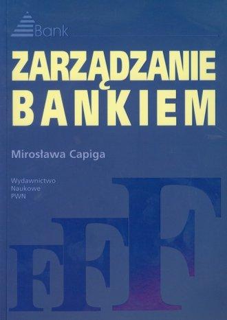 Zarządzanie bankiem - okładka książki
