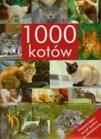 1000 kotów - okładka książki