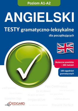 Angielski. Testy gramatyczno-leksykalne - okładka podręcznika