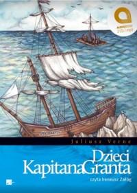 Dzieci kapitana Granta (CD) - Juliusz - pudełko audiobooku