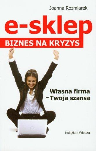 e-sklep. Biznes na kryzys - okładka książki
