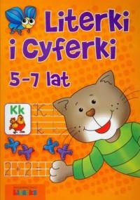 Literki i cyferki 5-7 lat - okładka podręcznika