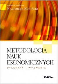 Metodologia nauk ekonomicznych - okładka książki
