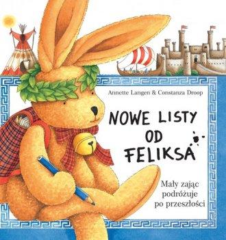 Nowe listy od Feliksa. Mały zając - okładka książki